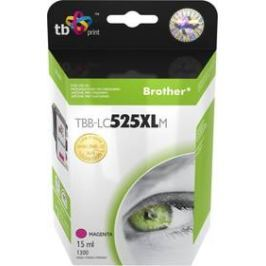 TB LC525XLM pro tiskárny Brother DCP-J100/DCP-J105/MFC-J200 1300 str. - magenta (TBB-LC525XLM)