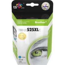 TB LC525XLC pro tiskárny Brother DCP-J100/DCP-J105/MFC-J200 1300 str. - cyan (TBB-LC525XLC)