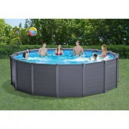Intex Graphite Gray Panel Pool 4,78 x 1,24 m (26382NP)