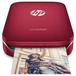 HP Sprocket Photo Printer (Z3Z93A#633) červená