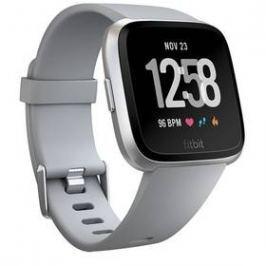 Fitbit Versa (NFC) - Gray / Silver Aluminum (FB505SRGY-EU)