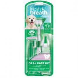 Tropiclean Fresh Breath set na čištění zubů pro štěňata