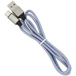 Devia Vogue USB/MicroUSB stříbrný