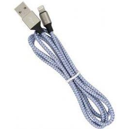 Devia Vogue USB/Lightning stříbrný