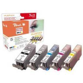 Peach Canon PGI-570XL/CLI-571XL, 975 stran, (319855) černá/červená/modrá/žlutá