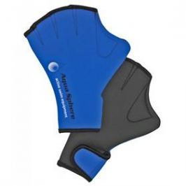 Plavecké rukavice Aqua Sphere Aquafitness S, modrá