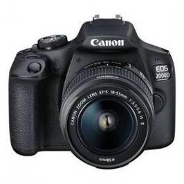 Canon EOS 2000D + 18-55 IS II + 50 1.8 S (2728C022AA) černý