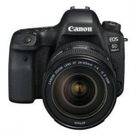 Canon EOS 6D Mark II + EF24-105 IS STM + dárek Canon objektiv a blesk černý