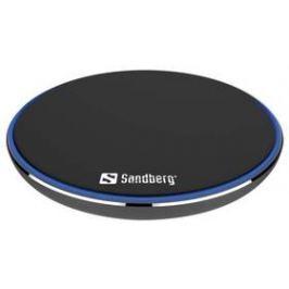 Sandberg Wireless Charger Alu Pad, s funkcí rychlonabíjení (441-09) černá