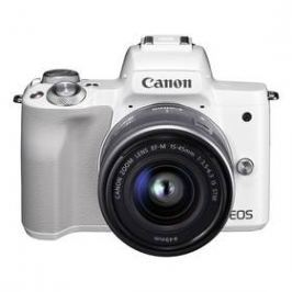Canon EOS M50 + EF-M15-45 (2681C012) bílý