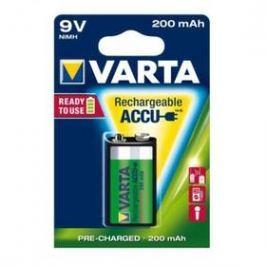 Varta Rechargeable Accu, 9V, 200 mAh