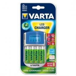 Varta LCD Charger + AA, 2 600 mAh, 4 ks