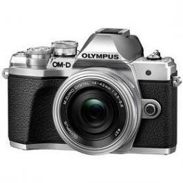 Olympus E-M10 Mark III, stříbrná/stříbrná + 14-42mm (V207071SE000)