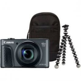 Canon PowerShot SX730HS, Travel Kit (1791C016AA) černý