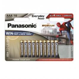 Panasonic Everyday Power, AAA, 6 + 4 ks (408595)