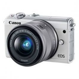 Canon EOS M100 + EF-M 15-45mm IS STM (2210C093) bílý