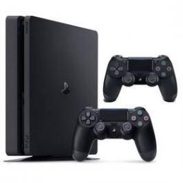 Sony PlayStation 4 SLIM 1TB + DualShock 4 (PS719887164) černý
