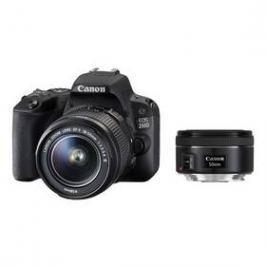 Canon EOS 200D + 18-55 IS STM + 50 1.8 STM (2250C022) černý