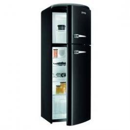 Gorenje Retro RF 60309 OBK černá Chladničky kombinované s mrazničkou