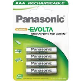 Panasonic Evolta AAA, HR03, 750mAh, blistr 4ks