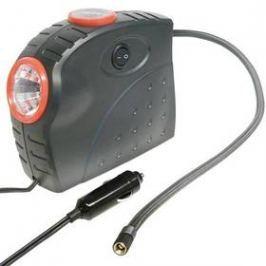 Carpoint 12V 10bar s LED reflektorem a tlakoměrem