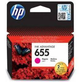 HP No. 655, 600 stran - originální (CZ111AE) červená