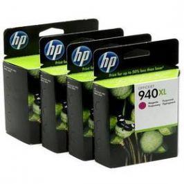 HP No. 940XL, 38ml - originální (C2N93AE) černá/červená/modrá/žlutá