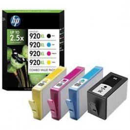 HP No. 920XL, CMYK, 1200 stran - originální (C2N92AE#301) černá/červená/modrá/žlutá