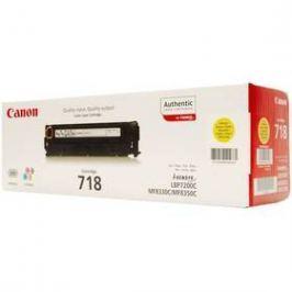 Canon CRG-718Y, 2900 stran (2659B002) žlutý
