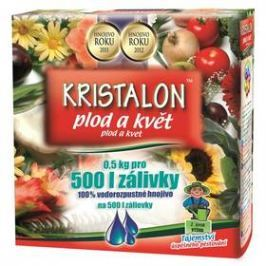 Agro Kristalon Plod a květ 0,5 kg Hnojiva a herbicidy