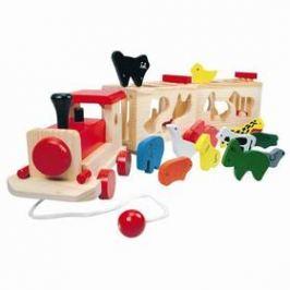 Vlak se zvířátky BINO - Zoo Trenino