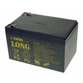 Avacom Long 12V 12Ah F2 (PBLO-12V012-F2A) černý