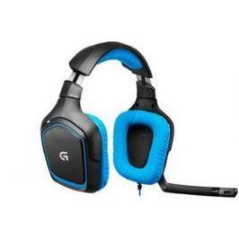 Logitech Gaming G430 (981-000537) modrý