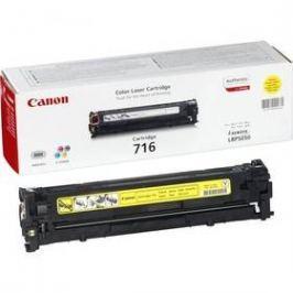 Canon CRG-716Y, 1,5K stran - originální (1977B002) žlutý Tonery