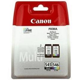 Canon PG-545/CL-546 Multi - originální (8287B005) černá/červená/modrá/žlutá