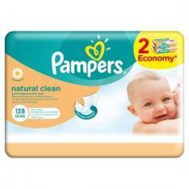 Pampers Natural Clean 128ks
