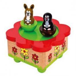 Hrací skříňka BINO - Krtek