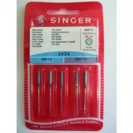 Singer - jehly BLISTER 826 - 2026/90,100 JEANS 5 ks
