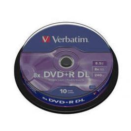 Verbatim DVD+R DualLayer, 8.5GB, 8x, 10cake (43666) Záznamová média