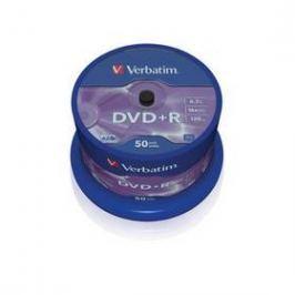 Verbatim DVD+R 4,7GB, 16x, 50cake (43550)