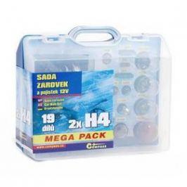 Compass 12 V servisní box MEGA H4+H4+pojistky