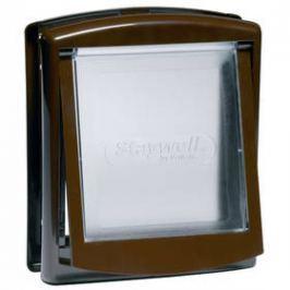 Staywell s transparentním flapem 755 - hnědé