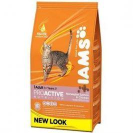 Iams Cat rich in Salmon 3 kg Granule pro kočky
