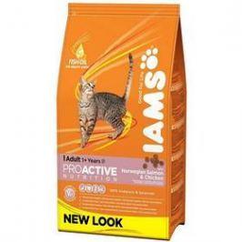 Iams Cat rich in Salmon 1,5 kg Granule pro kočky
