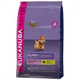 Eukanuba Puppy & Junior Small Breed 7,5 kg