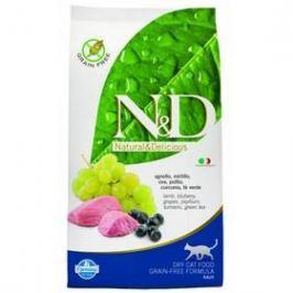 N&D Grain Free CAT Adult Lamb & Blueberry 10 kg