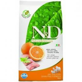 N&D Grain Free DOG Adult Maxi Fish & Orange 12 kg