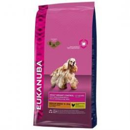 Eukanuba Adult Small & Medium Light/Weight Control 15 kg Granule pro psy