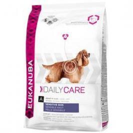 Eukanuba Daily Care Sensitive Skin 12 kg Granule pro psy