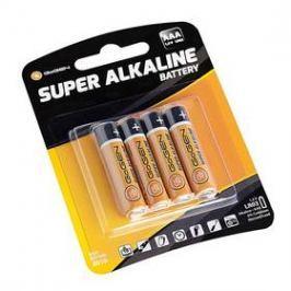 GoGEN SUPER ALKALINE AAA, LR03, blistr 4ks (GOGR03ALKALINE4) černá/oranžová